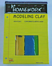 A+ Homework MODELING CLAY  4 Colors Non-Toxic