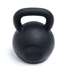 Black Cast Iron 36kg Kettlebell-FREE SHIPPING!