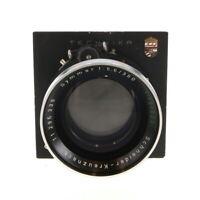 Vintage SchneiderKreuznach 360mm f/5.6, 620mm f/12 Double Convertible LF Lens BG