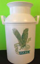 Vintage Fesco 33411776 White Plastic Milk Can Collectible Gift