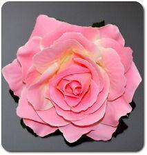 Haarblume Haarblüte Ansteckblume Brosche Rose Hochzeit Fascinator Haarspange