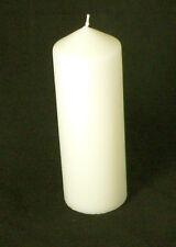 10 Pillar Ivory Wax 10x6cm Candle wedding function venue corporate table decor