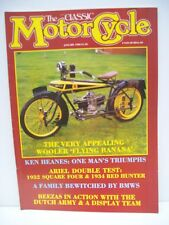 Classic Motor Cycle Magazine, 10 issues 1988, no 09/10