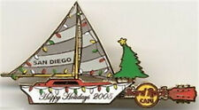 Hard Rock Cafe SAN DIEGO 2005 CHRISTMAS PIN Happy Holidays Boat Parade HRC 29967