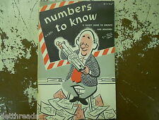CONVERSION HANDBOOK - Numbers To Know -1956- Handy Guide to Weights and Measures