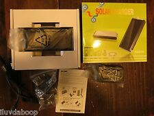 Cell Phone Solar Charger w/Built-in Flashlight (Fits Mobile,PDA,MP3,Camera,PSP)