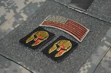 KILLER ELITE RANGER PATHFINDERS NINJA NETWORK 3-TAB: SPARTAN HELMET + US Flag AA