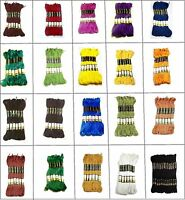 Anchor stranded Cotton embroidery thread skeins - All purpose assorted colors