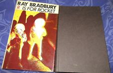 R is for Rocket ~ Ray Bradbury. RARE 1st UK.  Classic old school Sci-Fi  in MELB