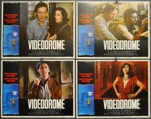 VIDEODROME 1983 ORIG 11X14 LOBBY CARD SET JAMES WOODS DEBBIE HARRY SONJA SMITS