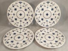 Set of 4 Churchill Finlandia Blue (Georgian Collection) Bread and Butter Plates