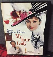 My Fair Lady DVD Snapper Audrey Hepburn Rex Harrison Come da Foto N