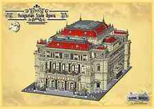Custom building instruction, consisting of LEGO elements - Hungarian State Opera