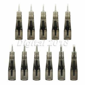 10pc Disposable Makeup Microblading Needles Eyebrow Lip Tattoo Cartridges Needle