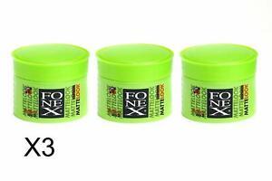 FONEX GUMMY MATTE LOOK HAİR WAX 3 x 100 ml
