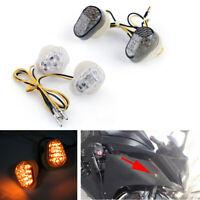 Bright LED Flush mount Turn Signals For Yamaha R1 2002-2013 R6 2003 FZ6 2004 AT1