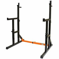 Adjustable Squat Rack Home Weight Training Equipment Fitness Gear Squats Gym NEW