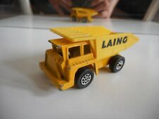 "Corgi Dumper Truck ""Laing"" in Yellow"