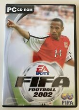 EA Sports FIFA Football 2002 PC CD-ROM Spiel in gutem Zustand
