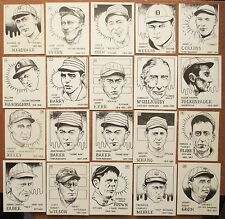 1968 & 1969 SCFC Baseball Cards RARE - You Choose how many - Complete Your Set!