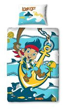 New Children Bed Sheets Jake and the Neverland Pirates Pillowcase Blanket Cover