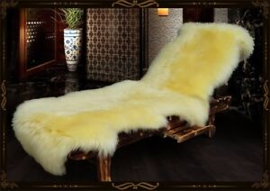 100% Genuine Sheepskin Rug Real Fur Long Wool Mat Carpets Natural Lambskin Decor