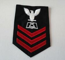 "Old 4"" Patch - Three Stripe - Us Navy - -"