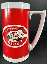 Vintage Plastic Mug Thermo Serv CINCINNATI REDS Cup Mug