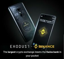 HTC Exodus 1 Blockchain Phone - NEW IN BOX! Wallet One Full Bit Coin Node