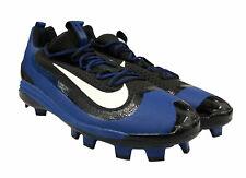 Nike Men's Huarache 2K Filth Pro Mid Baseball Cleats Blue Black Size 12