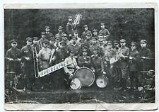 Postkarte um 1930 :  KPD Musik-Kapelle des Rot-Front-Kämpfer Bundes Düsseldorf