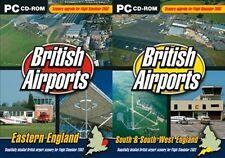 britische flughäfen ost england & british airports south & south west england
