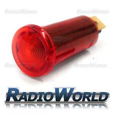 Rojo Iluminada Luz de advertencia lámpara indicadora coche DASH 12v