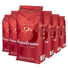 6 x 1000 g Primo Aroma Espresso Kaffee DESIDERIO Qualitätskaffee Bohnenkaffee