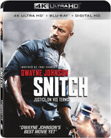 Snitch [New 4K UHD Blu-ray] With Blu-Ray, 4K Mastering, Digitally Mastered In