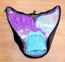 Finis Mermaid PARADISE PURPLE  Swim Fins Recreational Monofin New W/ Travel Bag