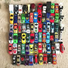 1990s Hot Wheels & Others Lot of 74 Diecast Automobiles Mattel Racing Champions