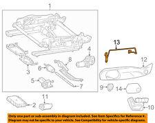 Mercedes MERCEDES-BENZ OEM SLK350 Seat Track-Side Cover Bracket Left 1729190178