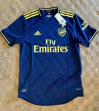 NWT Adidas Fly Emirates Arsenal Climachill Navy Home Jersey Size M - FJ9323