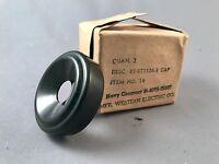 Western Electric Receiver Cap x 2 - Navy - NOS - SKU - 24856