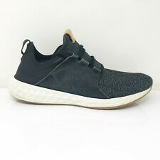 New Balance Mens Fresh Foam Cruz MCRUZOB Black Running Shoes Lace Up Size 11 D