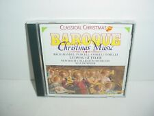 Baroque Christmas Music by Various Artists (CD, Dec-1993, Laserlight)