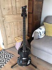 More details for hofner ignition violin bass transparent black [hibbtbk] bass guitar bass, guitar