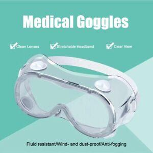 Occhiali medicali protettivi e igienici di sicurezza para graffi/schizzi approva