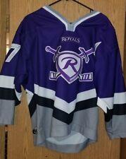 Reading ROYALS Hockey Jersey  Very Rare BRIAN MCCOLLOUGH #37