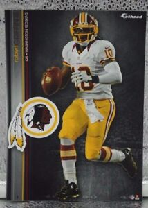 "Robert Griffin RG3 3 Fathead Washington Redskins NFL 7"" Decal Browns Ravens"