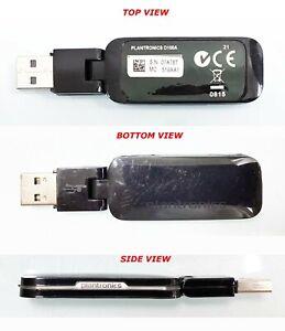 PLANTRONICS D100A WIRELESS USB DONGLE ADAPTER 83550-02 FOR SAVI W440, W445, etc