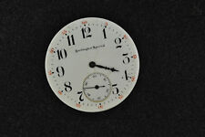 VINTAGE 12S OPEN FACE ILLINOIS POCKET WATCH MOVEMENT FROM 1914 RUNNING