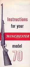 Winchester Model 70 Manual