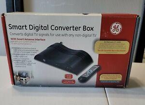 GE General Electric DTV Smart Digital to Analog TV Converter Box 22729 NEW NIB